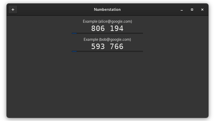 screenshot of numberstation